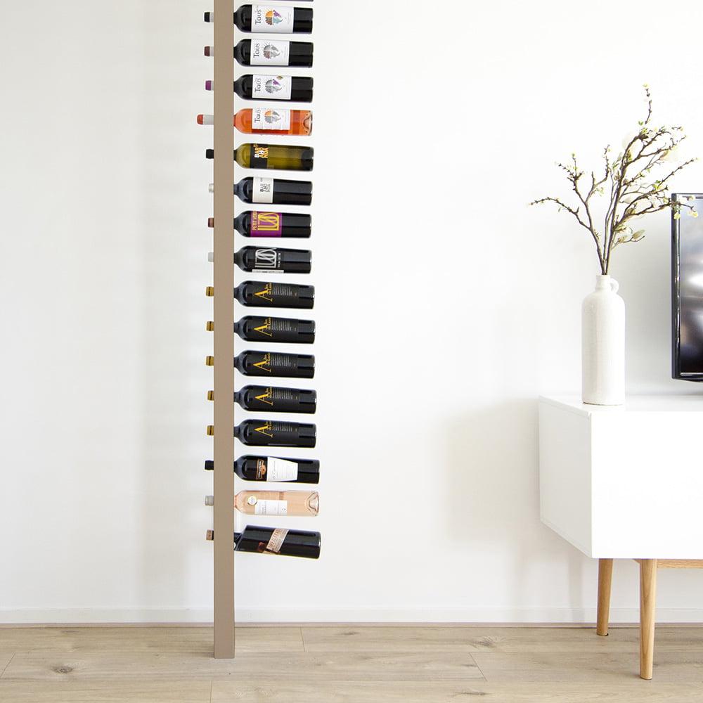 Wijnpaal wijnrek clean zijaanzicht