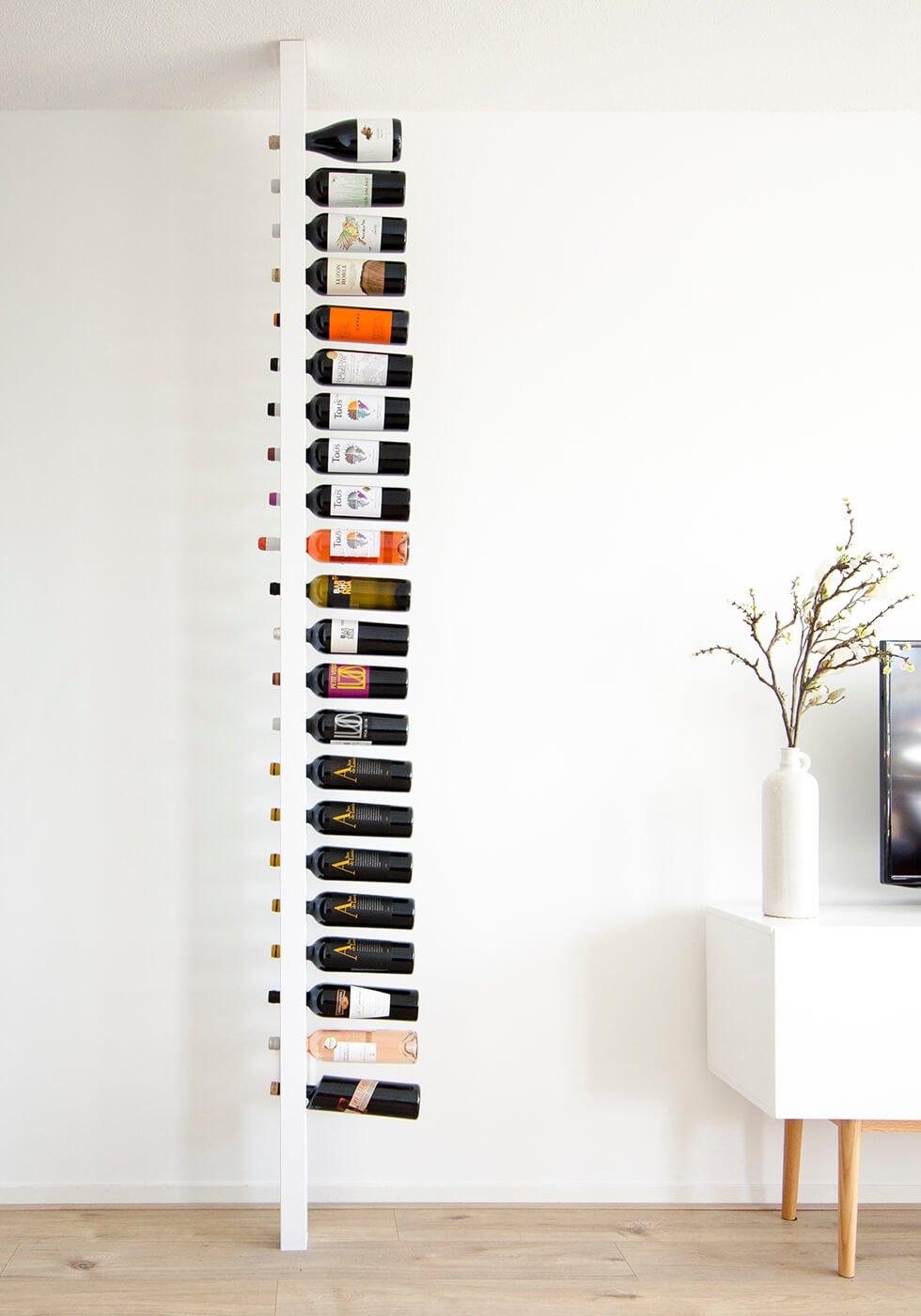 Wijnpaal classic zijaanzicht wijnrek
