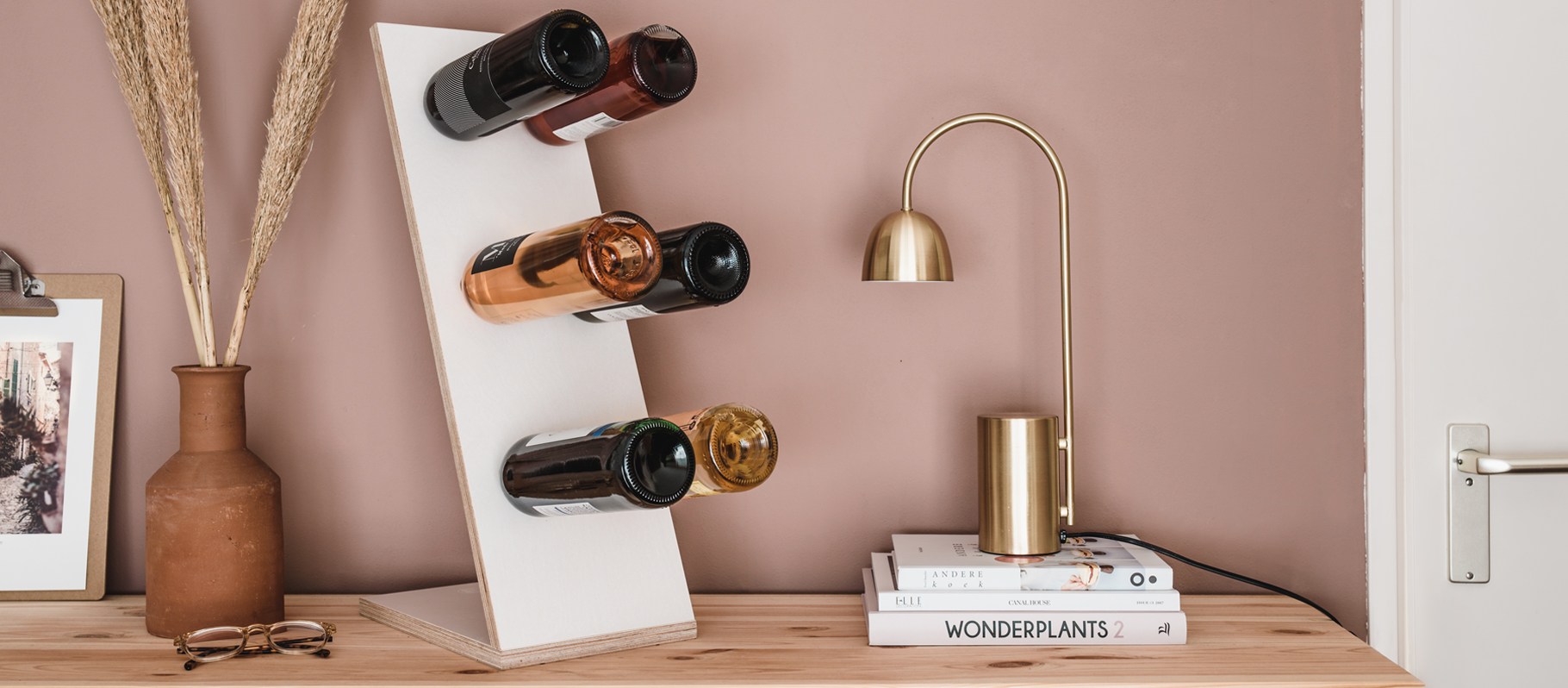 Compact Six wijnrek wit voordelen