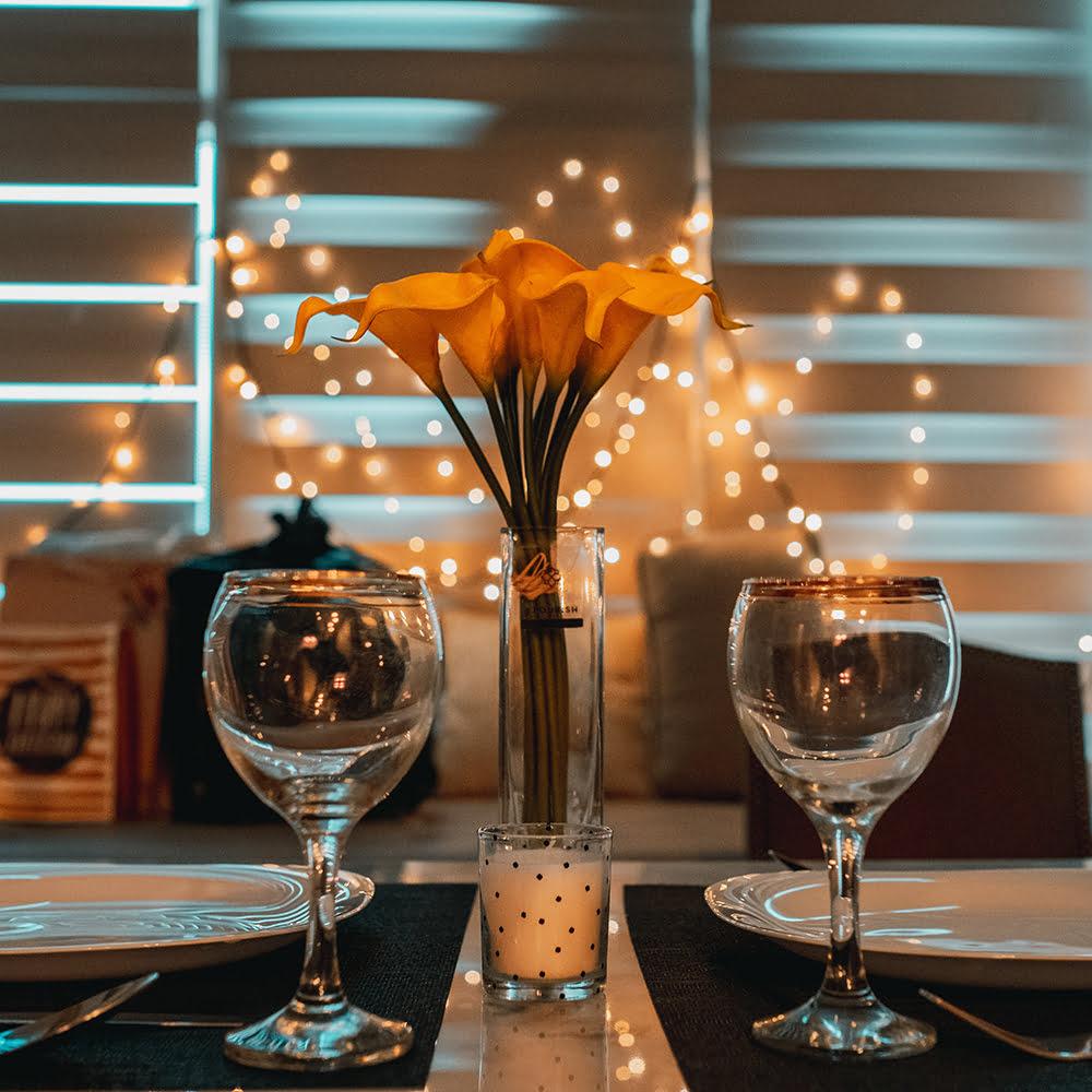 High wine sfeer lichten